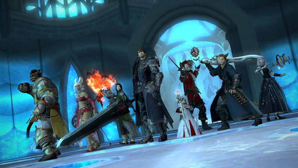 Final Fantasy XIV - MMO games